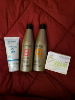Salerm Cosmetics Shampoo, Conditioner, 21 Silk Protein Leave