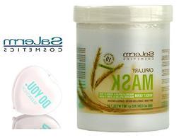 Salerm Cosmetics WHEAT GERM Capillary Mask, Provitamins B5 f