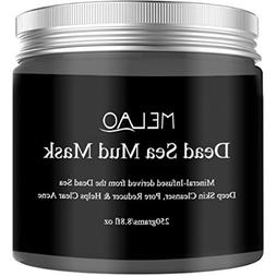 100% Natural Dead Sea Mud Mask for Face and Body, Clears Acn