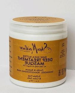 Shea Moisture Deep Treatment Hair Mask Sea Kelp Argan Oil 6