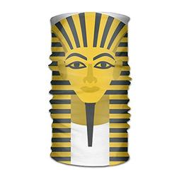Egyptian Golden Pharaoh Mask Unisex Fashion Quick-drying Mic