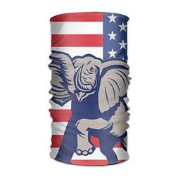 Elephant American Flag Unisex Fashion Quick-drying Microfibe