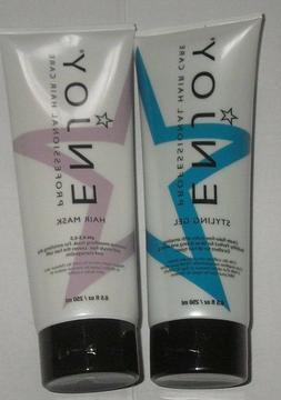 Enjoy Styling Gel 8.5oz   Enjoy Hair Mask 8.5 oz  2 PACK FRE