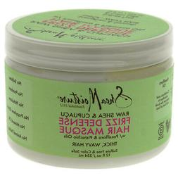 Shea Moisture Raw & Cupuacu Frizz Defense Hair Masque for Un