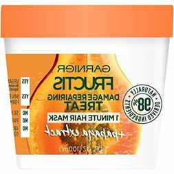 Garnier Fructis Damage Repairing Treat 1 Minute Hair Mask, 3