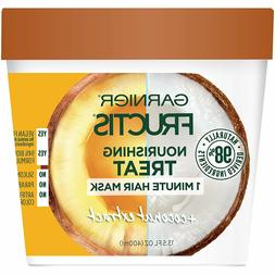 Garnier Fructis Nourishing Treat 1 Minute Hair Mask, 13.5 fl
