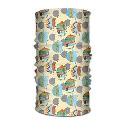 Funny Elephants Unisex Fashion Quick-Drying Microfiber Headd