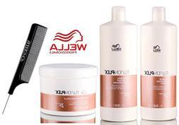 Wella FUSION PLEX Intense Repair Shampoo, Conditioner & Mask