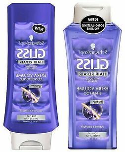 Schwarzkopf GLISS Hair Repair Extra Volume Conditioner 13.6