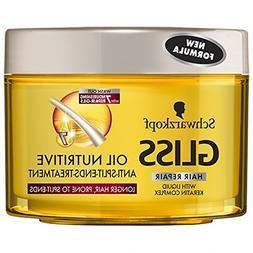 Gliss Kur Oil Nutritive Anti-Split-Ends Hair Mask 200 ml / 6