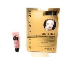 Global Beauty Care 24K Gold Spa Treatment Mask 5 Facial Trea
