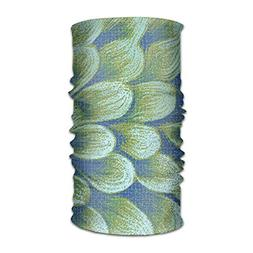 Green Petal Peacock Feather Unisex Fashion Quick-drying Micr