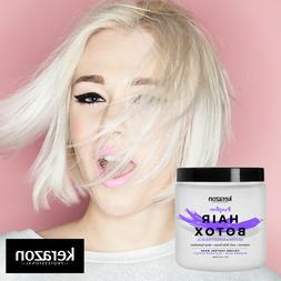 Hair Botox Treatment Brazilian Purple Hair Mask Platinum Sil