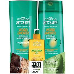 Garnier Hair Care Garnier Grow Strong Shampoo, Conditioner,