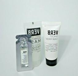 Verb Hair Mask Duo Ghost & Hydrating with Hair Oil Sample
