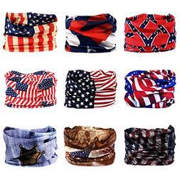 Headwear, Godspeed Headwrap 9-Pack Headband & Bandanna 16-in