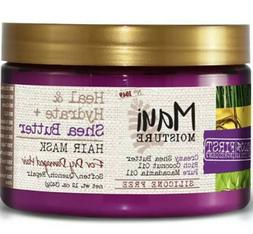 Maui Moisture Heal-Hydrate + Shea Butter Hair Mask 12oz Quic