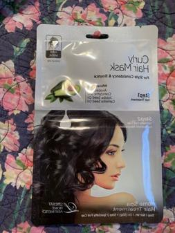 Lindsay Home Aesthetics Curly Hair Mask 2 Step Treatment Inf