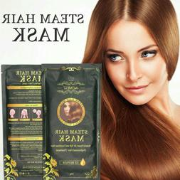 Women Pro Hair Mask Auto Heating Steam Oil Treatment For Rep