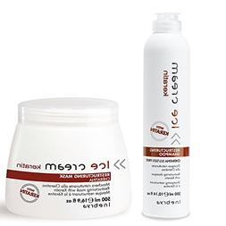 Inebrya Ice Cream Keratin Shampoo & Mask Set