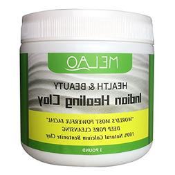 Vaiolab Indian Healing Bentonite Detox Clay, 100% Natural Po