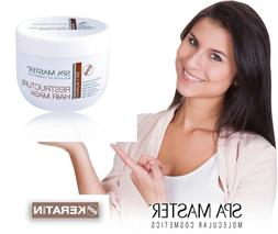 keratin restructure hair mask professional no silicone