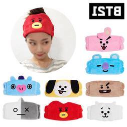 Kpop BTS BT21 Cotton Headband Cute Hair Band Tata Chimmy Coo