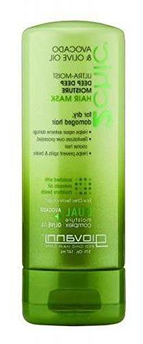 2 Pack Of Giovanni Avocado And Olive Oil Hair Mask