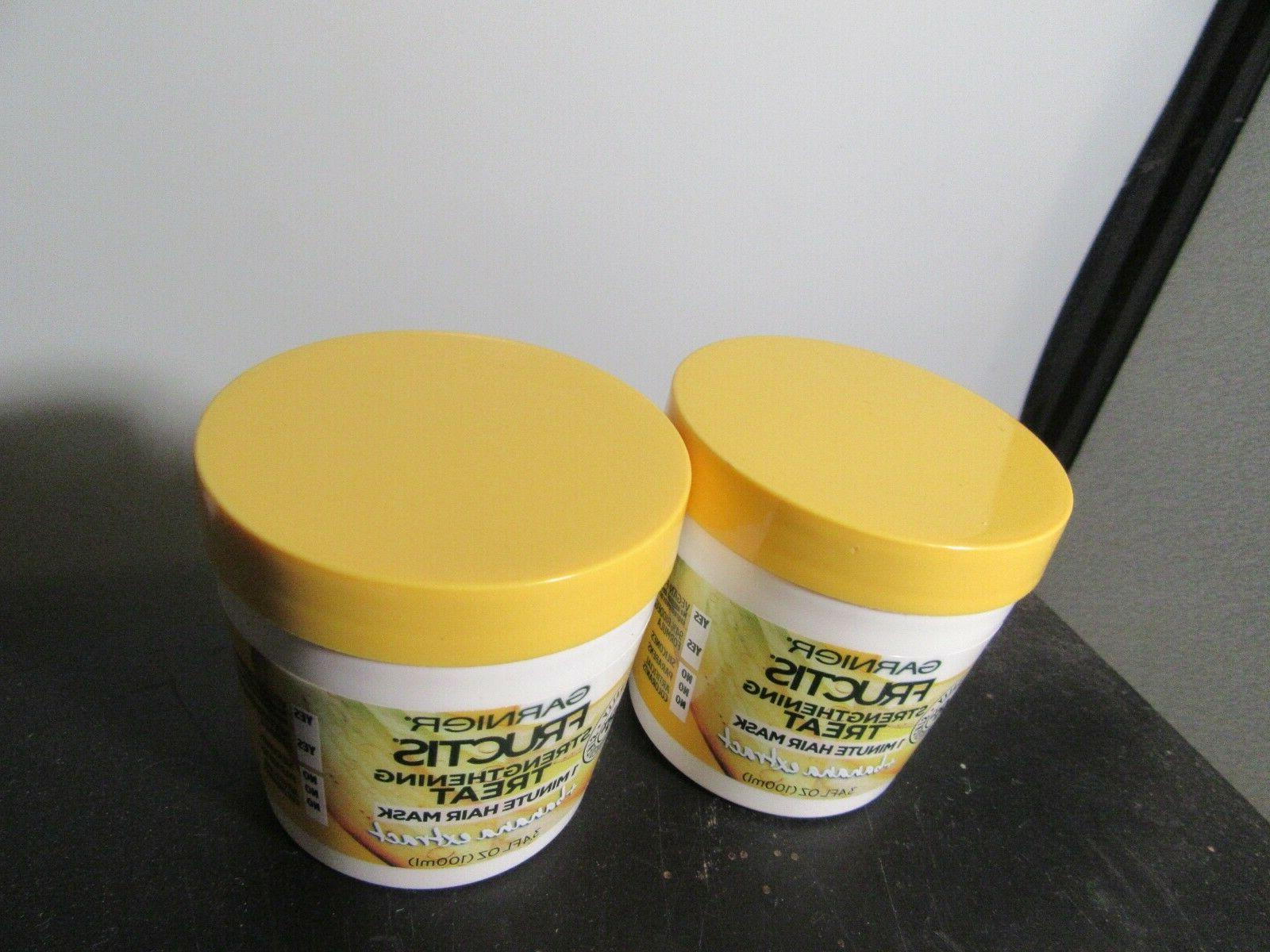 Garnier Strengthening Treat 1 Mask Banana, 3.4