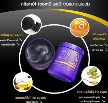 250g. LUAY Spa Charcoal restoring 5 mins by