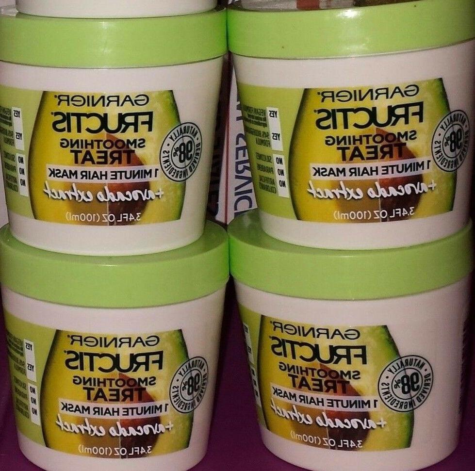 4 jars fructis 1 minute hair masks