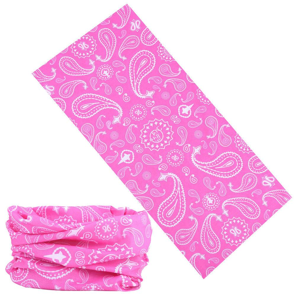 4pc Hair Band Headwrap Mask Bandana Neck Shield SPF40