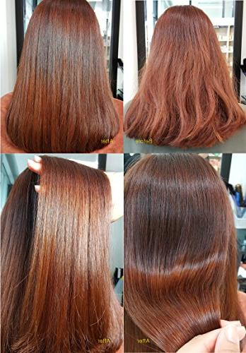 KCP 3.5 Clinic Silk Supply Keratin After or Rough Silky Shine Hair, and Moisture, Care Extremely Damaged fl oz