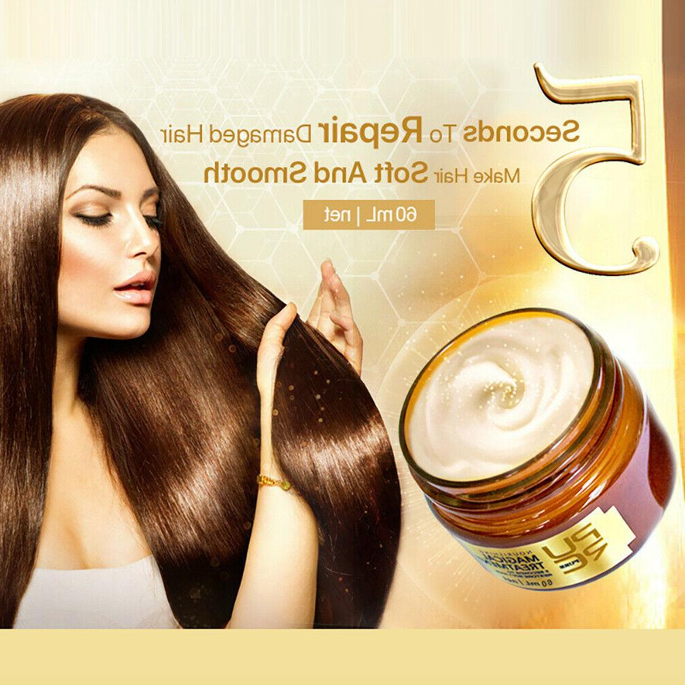 5 Magic Keratin Mask for Dry Damaged Hair Moisture
