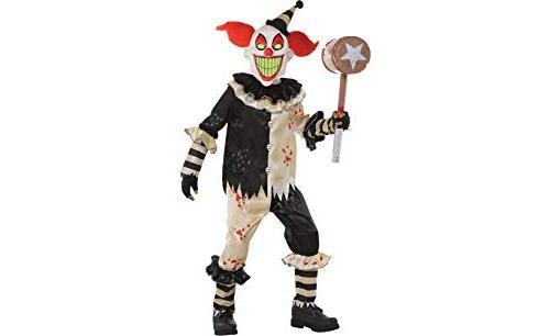 Amscan Carnival Nightmare Clown Halloween Costume for Boys,