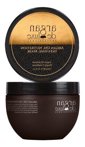 Argan Deluxe Hair Mask and Scalp Rejuvenating Deep Condition