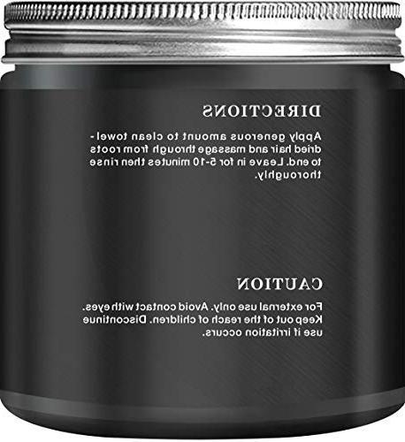 Botanic Hearth Charcoal Hair Mask Deep Hair Treatment - Hair & Hair 8