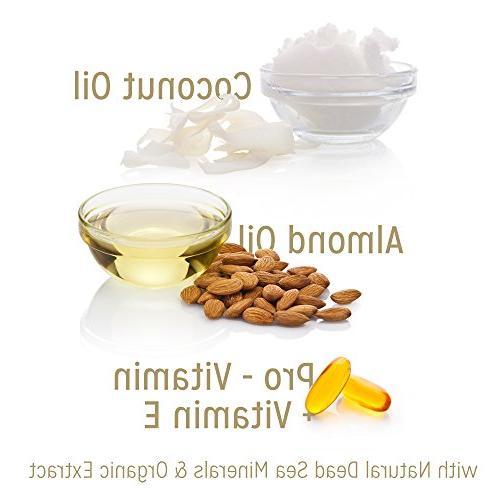 Calily Life Organic Oil Mask Natural Sea 17 Healing Natural Hair Enriches Hair, Shines & Strengthens