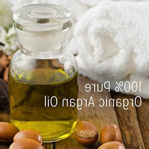 Calily Organic Argan Hair with 17 Nourishing Strengthens Promotes Hair