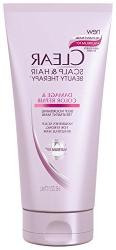 Clear Deep Nourishing Treatment Mask, Damage and Color Repai
