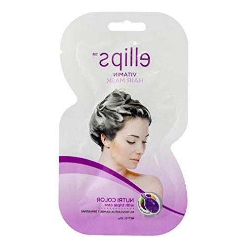 Ellips Hair Mask - Nutri Color, 20 Gram