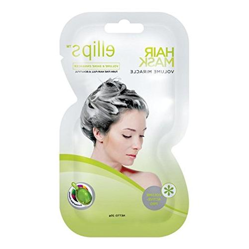 Ellips Hair Mask - Volume Miracle, 20 Gram