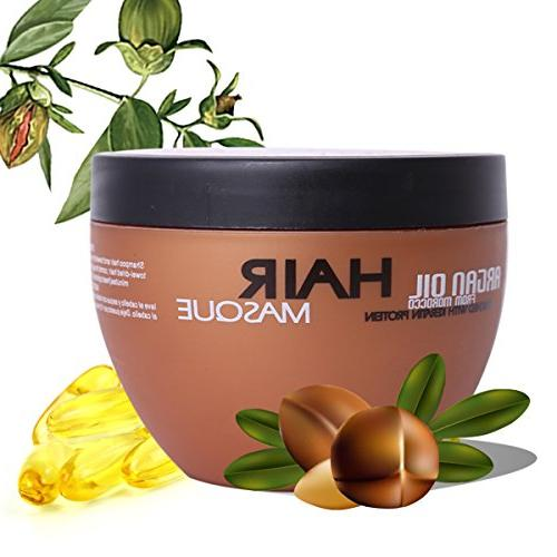 Hjr Moroccan Hydrating Argan Oil Hair Mask Masque And