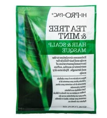 Hi-Pro-Pac Tea Tree & Mint Hair & Scalp Masque 1.75 FL OZ pa