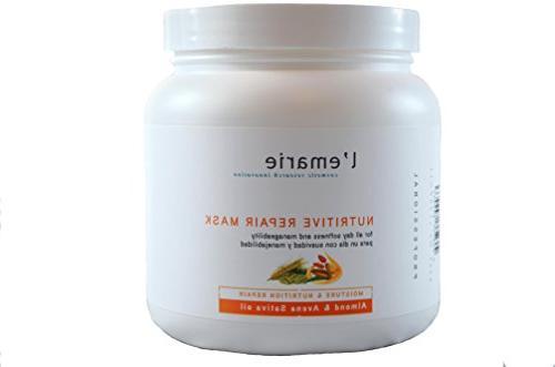 L'emarie Nutritive Repair Hair Mask –32 oz.- Deep Conditio