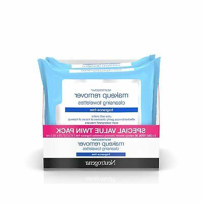 Neutrogena Cleansing Fragrance Free Makeup Remover Facial Wi