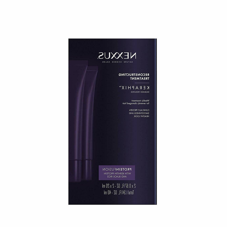 Nexxus Keraphix Gel Treatment, for Damaged Hair 0.67 oz, 2 c