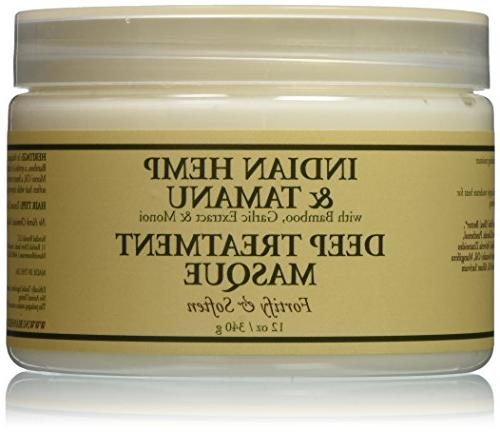 Nubian Heritage Grow and Strengthen Treatment Hair Masque, I