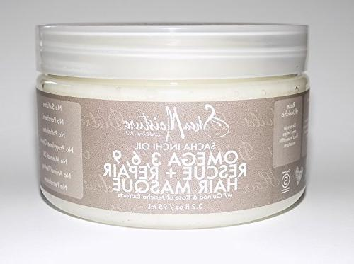 SHEAMOISTURE Sacha Inchi Rescue & Repair Hair Masque