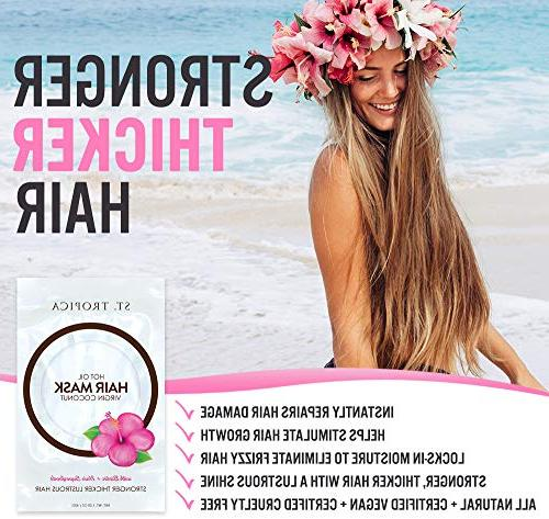 ST. TROPICA Oil #1 Ranked on Skin Restorative Conditioner Damaged Hair, Care Shine